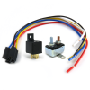 40 Amp Relay with Harness and Circuit Breaker - Part Number: KICRACB