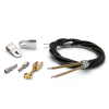 Emergency Hand Brake Cable Kit with Hardware and Ford Clevis' - Part Number: ASCBC002