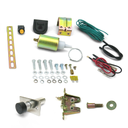 15lb Power Trunk / Hatch Kit with Latch and Door Popper - Part Number: AUTPT2000