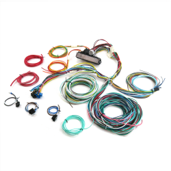 Ultimate 15 Fuse '12v Conversion' wiring harness  29 1929 Model A Cabriolet