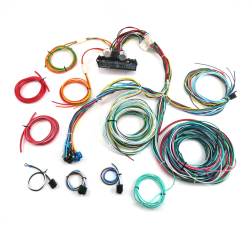 ultimate 15 fuse 12v conversion wiring harness 48 1948 ford pickup rh johnnylawmotors com