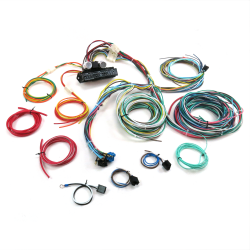Ultimate 15 Fuse '12v Conversion' wiring harness  28 1928 Model A Cabriolet