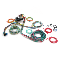 Ultimate 15 Fuse '12v Conversion' wiring harness  30 1930 Model A Pickup 