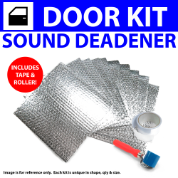 Heat & Sound Deadener Ford 1941 - 48 2 Door Kit + Tape, Roller 3048Cm2 - Part Number: ZIR7967C