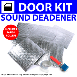 Heat & Sound Deadener Early Cars 1935 - 40 2Dr Kit + Seam Tape, Roller 4161Cm2 - Part Number: ZIR7972C