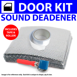 Heat & Sound Deadener Early Triumph 1946 - 54 2Dr Kit + Tape, Roller 3822Cm2 - Part Number: ZIR79704