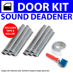 Heat /& Sound Deadener Chevy Chevelle 1968-1972 2 Door Kit 3576Cm2 zirgo hot