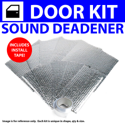 Heat & Sound Deadener Ford 1935 - 1940 2 Door Kit + Tape 3045Cm2 - Part Number: ZIR79599