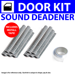 Heat & Sound Deadener Early Cars 1935 - 1940 2 Door Kit + Seam Tape 4161Cm2 - Part Number: ZIR7964A