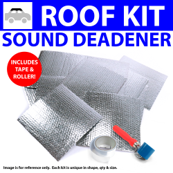 Heat & Sound Deadener Early Triumph 1946 - 54 Roof Kit + Tape, Roller 30576Cm2 - Part Number: ZIR7AB36