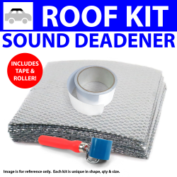 Heat & Sound Deadener Volkswagen Type 4 1968 - 74 Roof + Tape