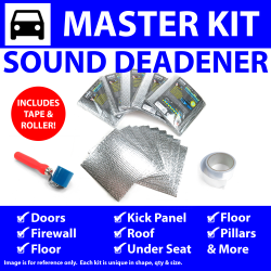 Heat & Sound Deadener Triumph TR250 1961 - 76 Master Kit + Tape, Roller 58695Cm2 - Part Number: ZIR7A732