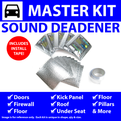 Heat & Sound Deadener Triumph TR250 1961 - 1976 Master Kit + Seam Tape 58695Cm2 - Part Number: ZIR7A650