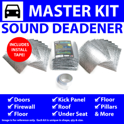 Heat & Sound Deadener Triumph Spitfire 1962 - 80 Master Kit + Tape 55809Cm2 - Part Number: ZIR7A644
