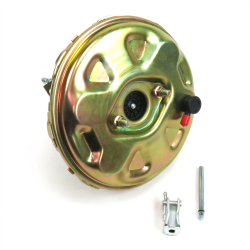 Cadmium Plated 11 Inch Power Brake Booster ~ Fits CPP, Wilwood, Baer - Part Number: HEXBB32