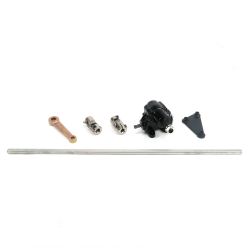 "Vega Steering Box Kit + 2 U Joints + 36"" DD Shaft - Part Number: HEXSTB2KIT"