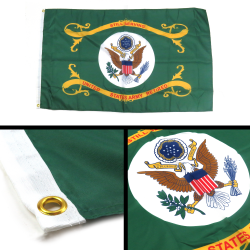 United States Army Retired Flag - Part Number: BANPOLT08