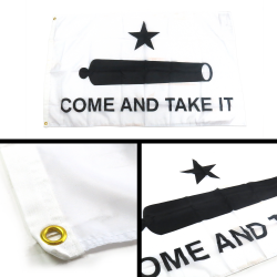Come And Take It Flag - Part Number: BANPOLT10