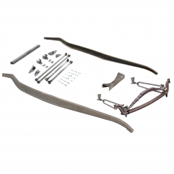 1932 Ford Frame Kit ~ Hairpin Basic Drilled fits Dearborn,  Brookville - Part Number: VPAFRK77E0E