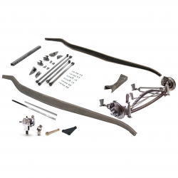 1932 Ford frame Kit ~ Hairpin Super Deluxe Drilled fits Dearborn,  Brookville - Part Number: VPAFRK77E10