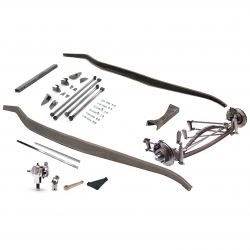 1932 Ford Frame Kit~Four Link Super Deluxe Non-Drilled fits Dearborn, Brookville - Part Number: VPAFRK77E13