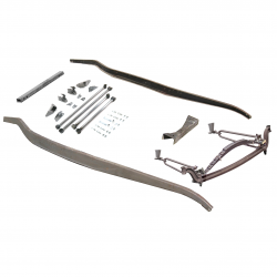 1932 Ford frame Kit ~ Hairpin Basic Non-Drilled fits Dearborn,  Brookville - Part Number: VPAFRK77E14