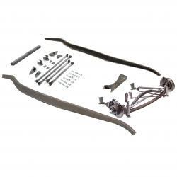 1932 Ford Frame Kit - Hairpin Deluxe Non-Drilled Fits Dearborn,  Brookville - Part Number: VPAFRK77E15