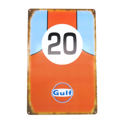 Gulf Metal Sign - Part Number: VPAMSIGN01