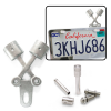 Piston Style Kit with License Plate Topper & Plate Bolts - Part Number: VPASKIT01