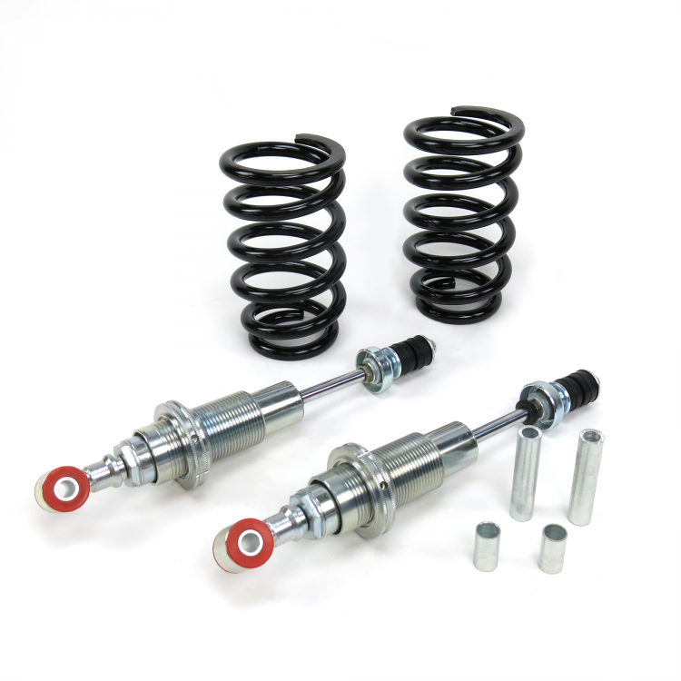 Mustang II Adjustable Coil-Over Front Shock Kit with Tapered