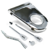 "Deluxe Chrome 3.5"" Column Drop, Shifter Lever and Tilt Kit - Part Number: VPACCK02"