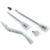 Deluxe Chrome Column Shifter Lever and Column Dress Up Kit - Part Number: VPACS1CDK