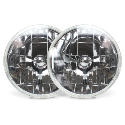 Snake-Eye 7 Inch Halogen Lens Assembly ~ Pair - Part Number: AUTLENA1AS