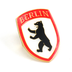 VW Berlin Hood Badge Crest - Part Number: VPAHC001