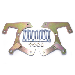 1957-1964 Ford F Series Disk Brake Conversion Caliper Brackets - Set - Part Number: HEXCB4