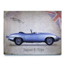 Signature Jaguar Wooden Sign - Part Number: VPAWSIGN10