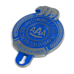 AAA Honor Member License Plate Topper - Part Number: VPALPT018