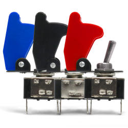 Race Toggle Switches With Safety Covers - Part Number: 10015222