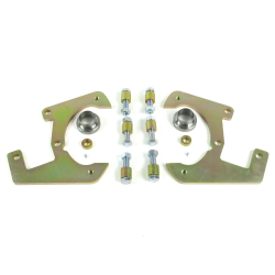 1948-1956 Ford F Series Disk Brake Conversion Caliper Brackets - Set - Part Number: HEXCB3