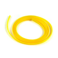 "3/8"" Yellow Ultra Wrap Wire Loom - 10 Feet - Part Number: 7ACC8"