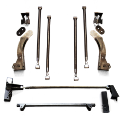 Helix 64-70 Mustang Deluxe 4-Link Bracket Only Kit - Part Number: HEXTTK9A