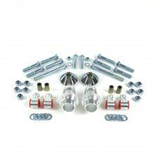 55-57 Chevy Tri-Five Triangulated 4-Link Hardware & Shock Adaptor Kit - Part Number: HEXTTK13B