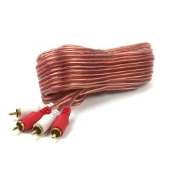 25 ft O.f.c Rca Nude Patch Cable - Part Number: PC25