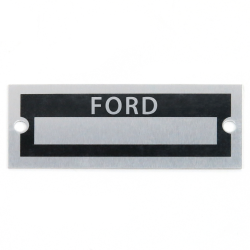 Blank Data Vin Plate - Ford - Part Number: VPAVIN39