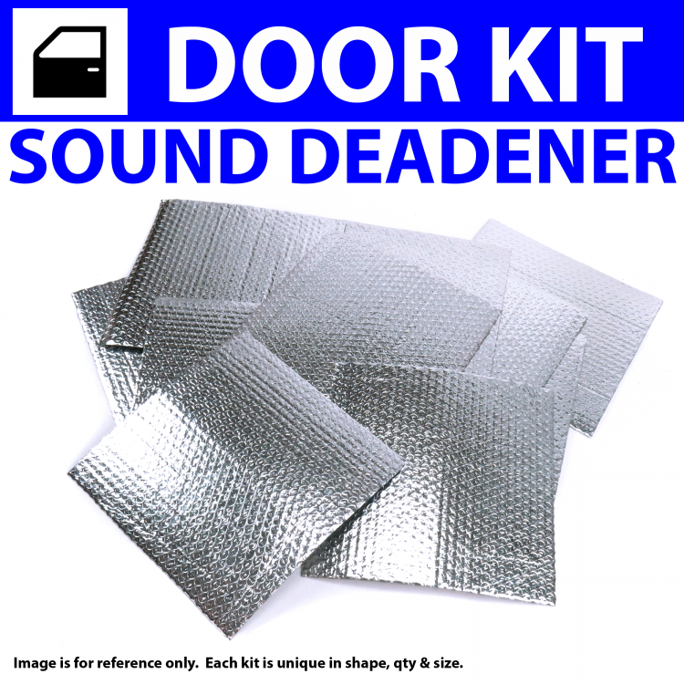 Zirgo 316186 Heat /& Sound Deadener for 77-86 e23 BMW 2 Door Stg3 Kit
