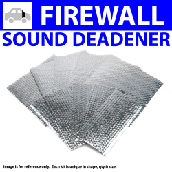 Heat & Sound Deadener Ford 1935 - 1940 Firewall Kit 9135Cm2 - Part Number: ZIR7975D
