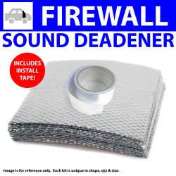 Heat & Sound Deadener Ford 1935 - 1940 Firewall Kit + Seam Tape 9135Cm2 - Part Number: ZIR7983F