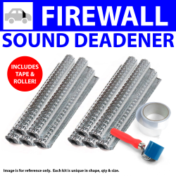 Heat & Sound Deadener Early Triumph 1946 - 54 Firewall + Tape, Roller 11466Cm2 - Part Number: ZIR799AA