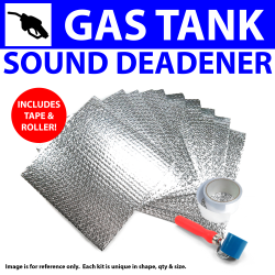 Heat & Sound Deadener Ford 1935 - 40 Gas tank Kit + Seam Tape, Roller 6090Cm2 - Part Number: ZIR79BC7