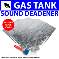 Heat & Sound Deadener Ford 1941 - 48 Gas tank Kit + Seam Tape, Roller 6096Cm2 - Part Number: ZIR79BC8